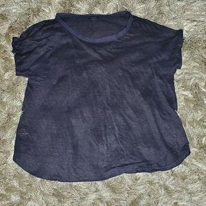 Ann Taylor linen t shirt